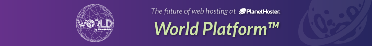 Planethoster web hosting