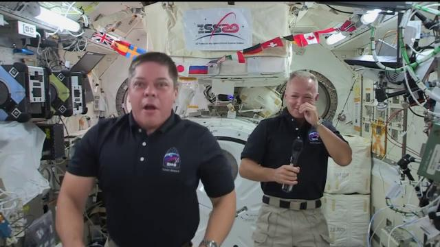 SpaceX Demo-2 astronauts talk to 'The Late, Late Show''s James Corden
