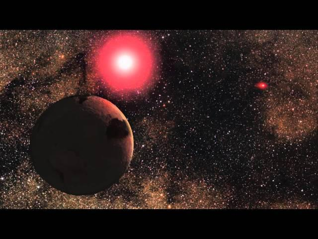 Frozen Rocky Planet Discovered in Binary System | Visualization