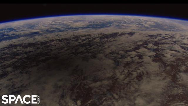 See a solar eclipse shadow from space in real-time