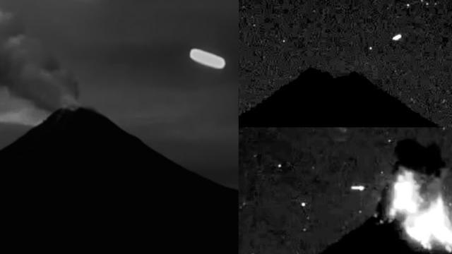Multiple UFO Sightings over Volcano Colima, Mexico (2015 & 2016) - FindingUFO