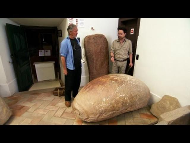 Why is there a DNA Double Helix Carved on this 7,000 Year old Portuguese Cosmic Egg?