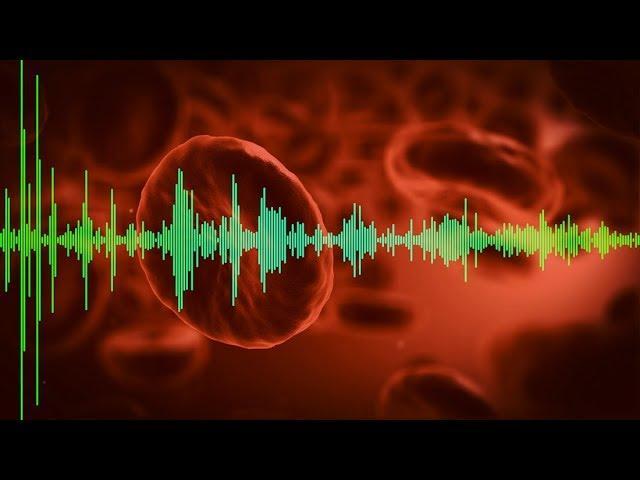 Blood testing via sound waves