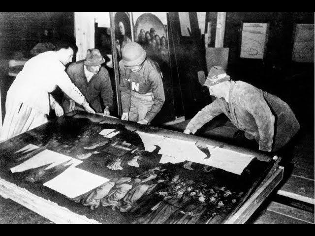 Crack Team Recovers Thousands Of Artworks Stolen By The Nazis During World War Two