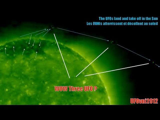 What's this? 3 UFO Robots Near Sun? Jan 10 - 11, 2020