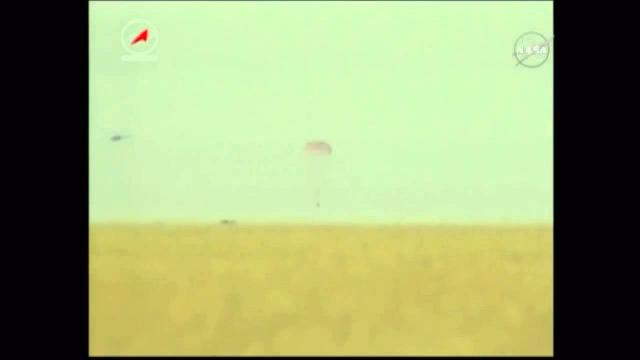 Touchdown! Space Station Expedition 43 Crew Lands In Kazakhstan