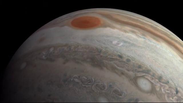 Incredible Jupiter flyover created from NASA Juno imagery