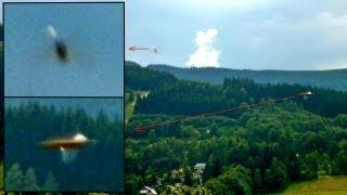 Stunning UFO Appears In Picture Over Colorado Forest, July 28, 2013