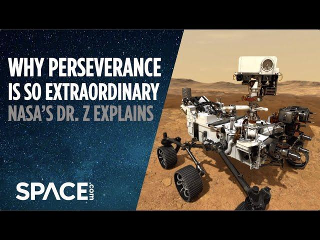 Why Perseverance is so extraordinary - NASA's Dr. Z Explains (Exclusive Interview)