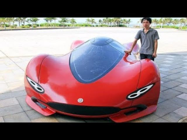 This Guy Started Building A Super Car With Only $4000