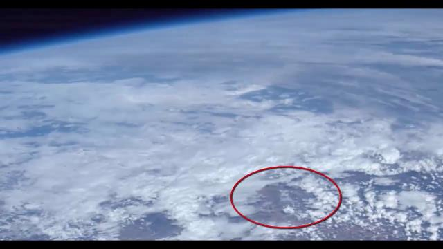 This NASA Footage Show Clear strange Phenomena  UFO