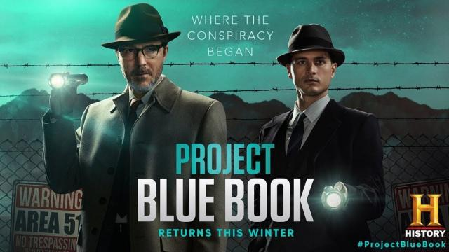 """Project Blue Book"" Season 2 UFO Series Returns on January 21, 2020 (Promo Trailer) - FindingUFO"