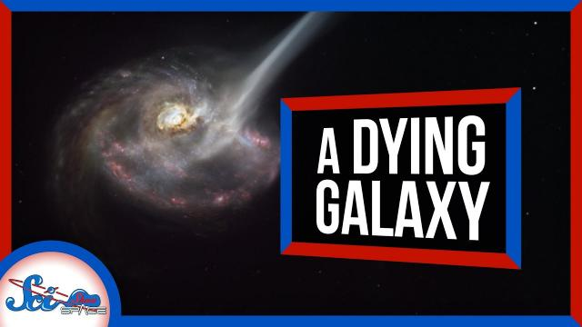 This Galaxy Is in the Midst of Dying   SciShow News