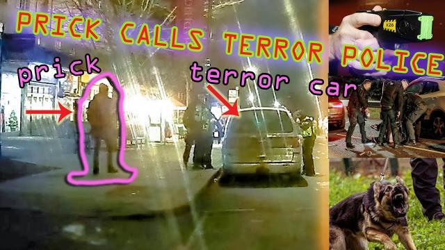 TERRORIST POLICE CALLED BY LIAR Matt Hooper - Belsize Park Bunker