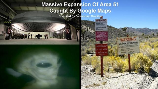 AREA 51 Massive Expansion Caught By Google Maps