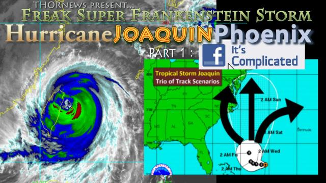 Alert! Warning! Freak Storm & Hurricane Joaquin to combine & flood parts of East Coast
