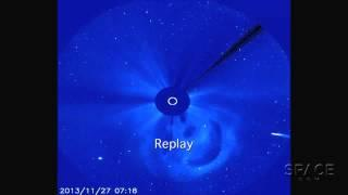 RIP Comet ISON? Icy Visitor Missing After Sun Flyby | Video