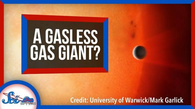 This Planet Used to Be the Core of a Gas Giant?   SciShow News