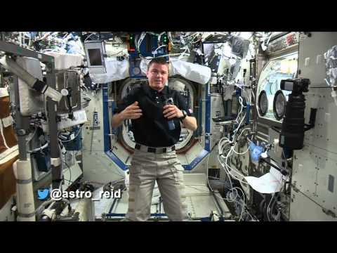#askAstro: @astro_reid's Biggest Fear In Space