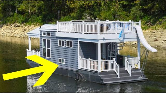 These Houseboats May Seem Tiny, But You Will Be Surprised When You See Their Interior!