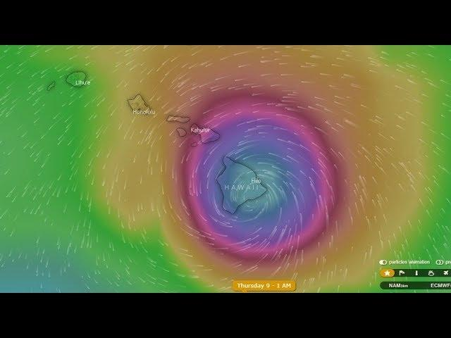 Hurricane Hector could hit Hawaii & The MODELS aren't working well.