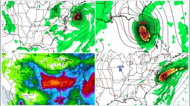 Tracking potentially dangerous Invest 92L! Floods coming to Middle America! Siberian Wildfires!