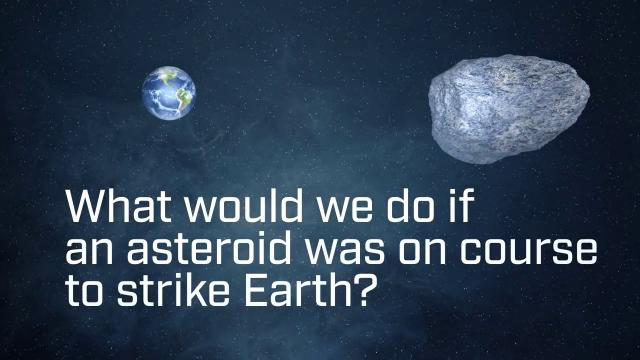 How to Deflect an Asteroid - Crash Into It?