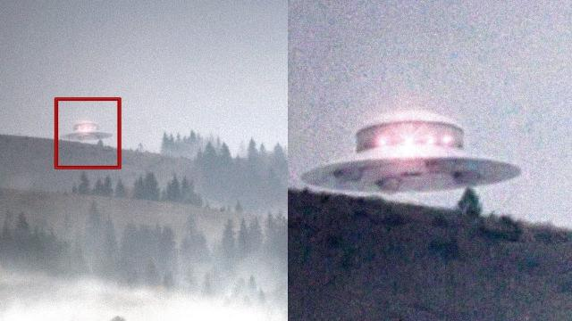UFO Fleet Falling From Sky In COLORADO USA