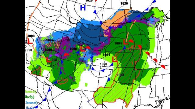 Big storm going Coast to coast: Arizona tornadoes? + Europe Troubles
