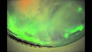 Bright Auroras Shine Through Clouds Over Sweden | Video