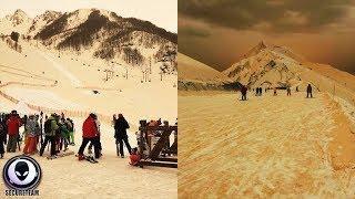 ORANGE Snowstorms Shock European Citizens..
