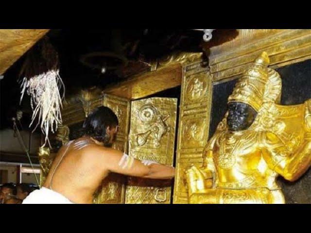 What is hidden behind the sealed door in Padmanabhaswamy Temple?