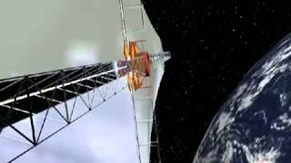 Deploying Sunjammer's Massive Solar Sail   Video