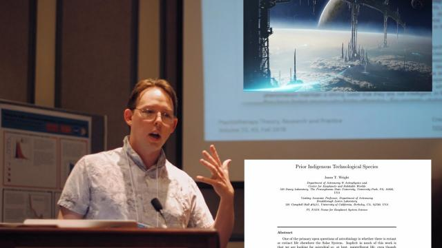 Prof Says Technological Aliens Once Inhabited Solar System