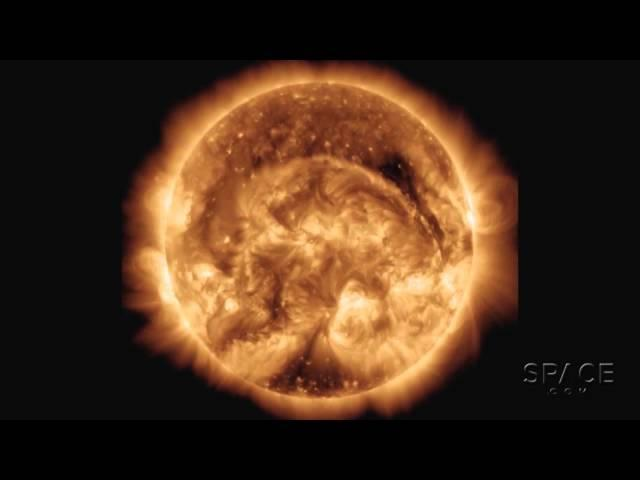 Gigantic Solar Filament Eruption May Be Earth-Directed | Video