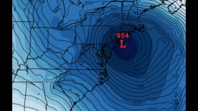 Alert! Cat 3 Hurricane*/Nor'Easter/W.E. to hit North East Superbowl Sunday? models lock in