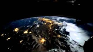 Over Earth: What Night-Flying the ISS Looks Like