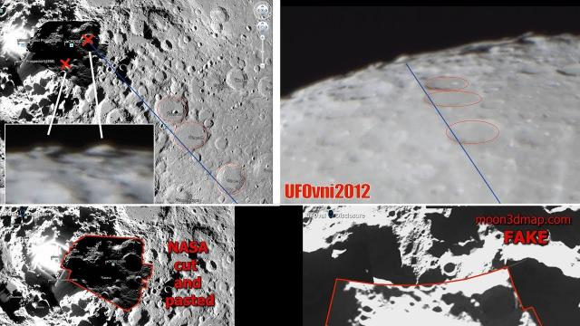 Telescope 4K: UFOs & Alien Structures Found On Moon South Pole, NASA Liar