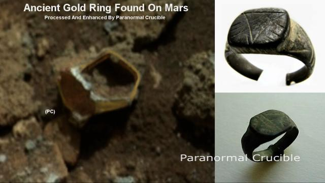 Ancient Gold Ring Found On Mars?