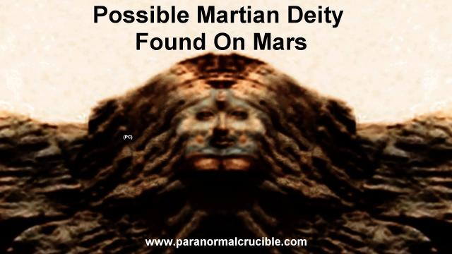 Possible Martian Deity  Found On Mars