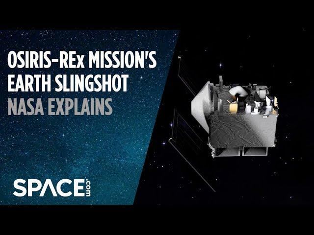 OSIRIS-REx Mission's Earth Slingshot - NASA Explains