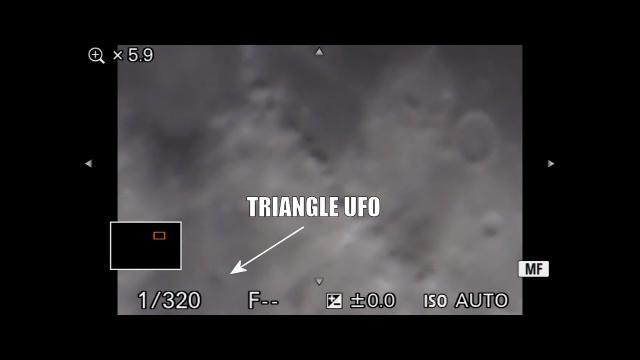 LIVE Moon May 31, 2020 (Triangle UFO: 41:06)
