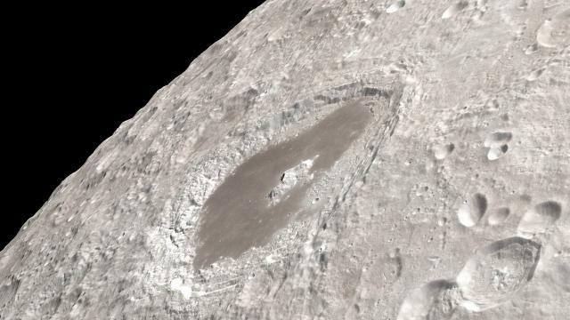 Amazing Apollo 13 Moon views visualized using orbiter imagery - 4K Video