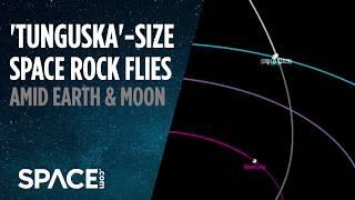 Surprise! 'Tunguska'-Size Asteroid Flies Between Earth and Moon