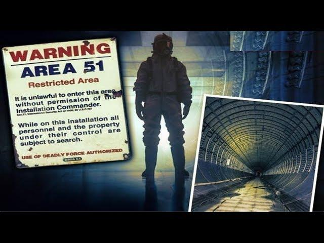 AN UNDERGROUND city lies beneath Area 51 that could change the course of history