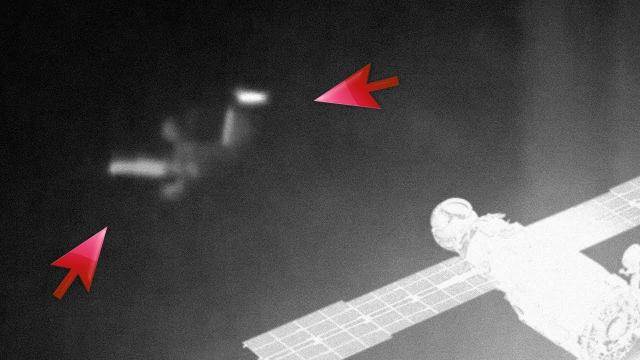 IS THERE EVIDENCE OF A POINTED UFO VISITING EARTH AND THE SUN?