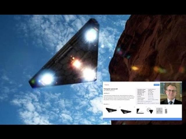 Triangle UFO Patent Is Now In The Public Domain