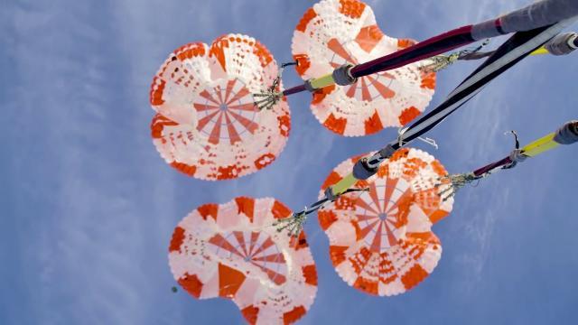 Crew Dragon Parachute Tests