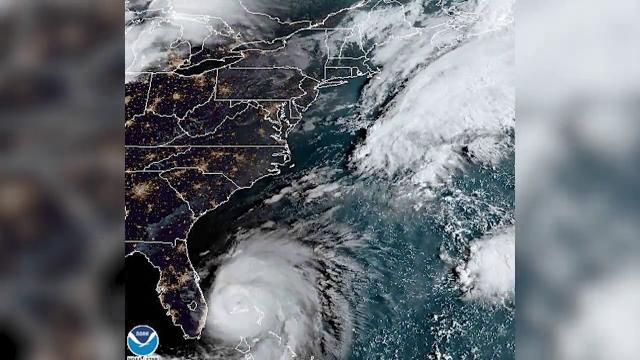 Hurricane Dorian Seen From Space on Sept. 3