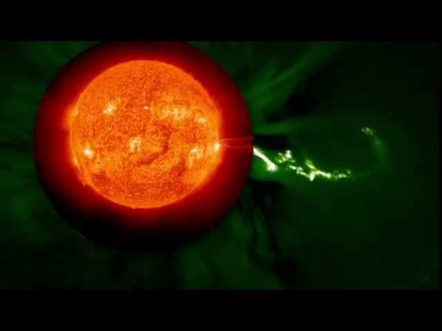 Spectacular August Solar Flare - Wide View From NASA | Video